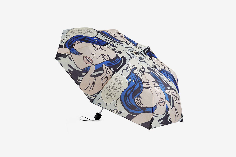 Roy Lichtenstein: Drowning Girl Umbrella