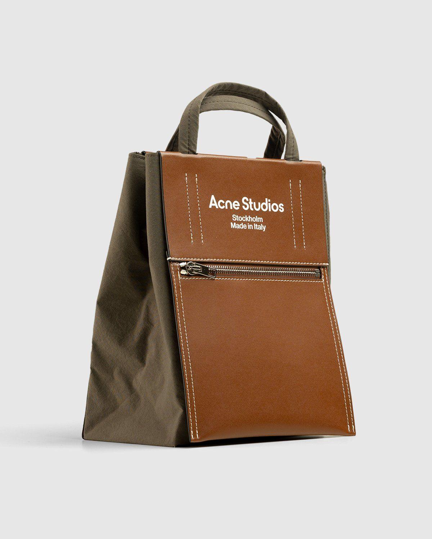 Acne Studios – Mini Tote Bag Brown - Image 3