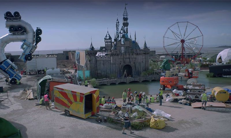 Banksy Releases the Official Trailer for His Dismaland ...