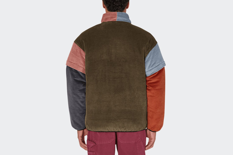 Color Blocked Mirco Jacket