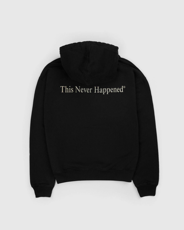 Highsnobiety — This Never Happened 2020 Hoodie Black - Image 1