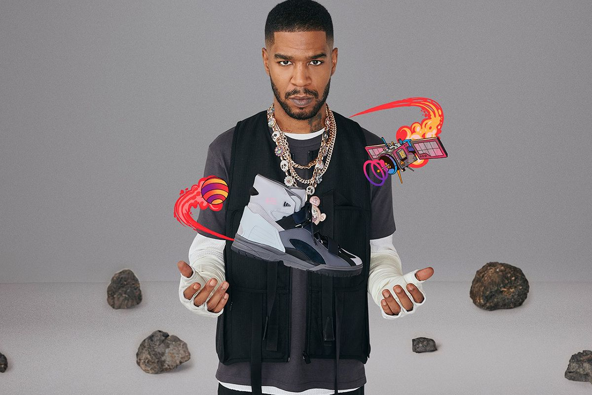 Kid Cudi's First adidas Sneaker Is a Nod to All Things Intergalactic 3
