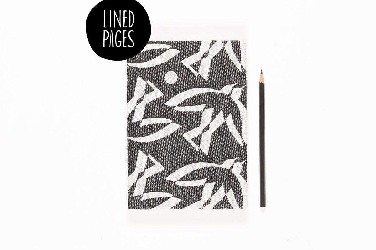 A5 Note Book Birds (Lined Pages)