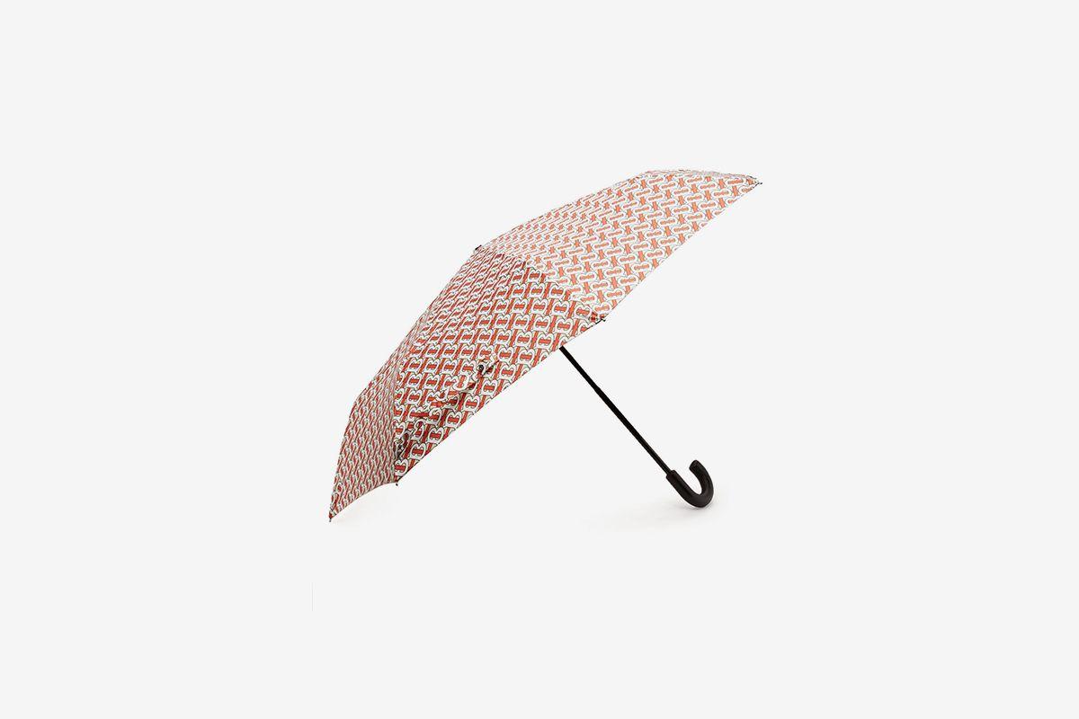 Trafalgar Monogram-Print Umbrella