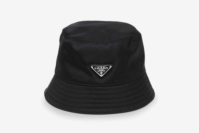 Tessuto Triangolo Nylon Bucket Hat