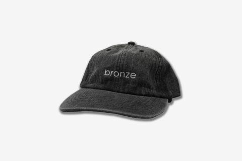 bronze Denim Cap
