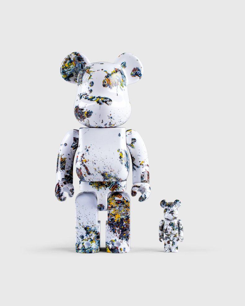 Medicom Be@rbrick — Jackson Pollock Studio Splash 100% and 400% Set