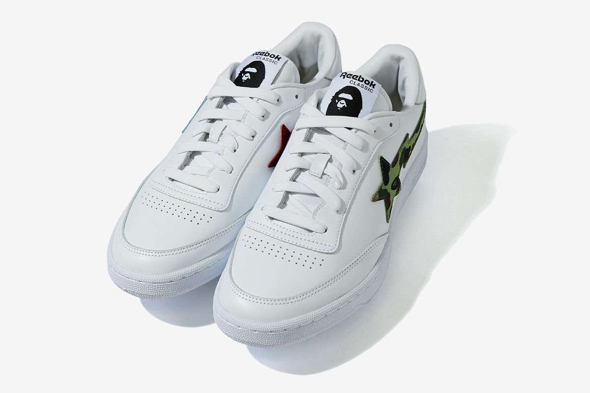 BAPE Turns Reebok's Club C Into the BAPE STA 26