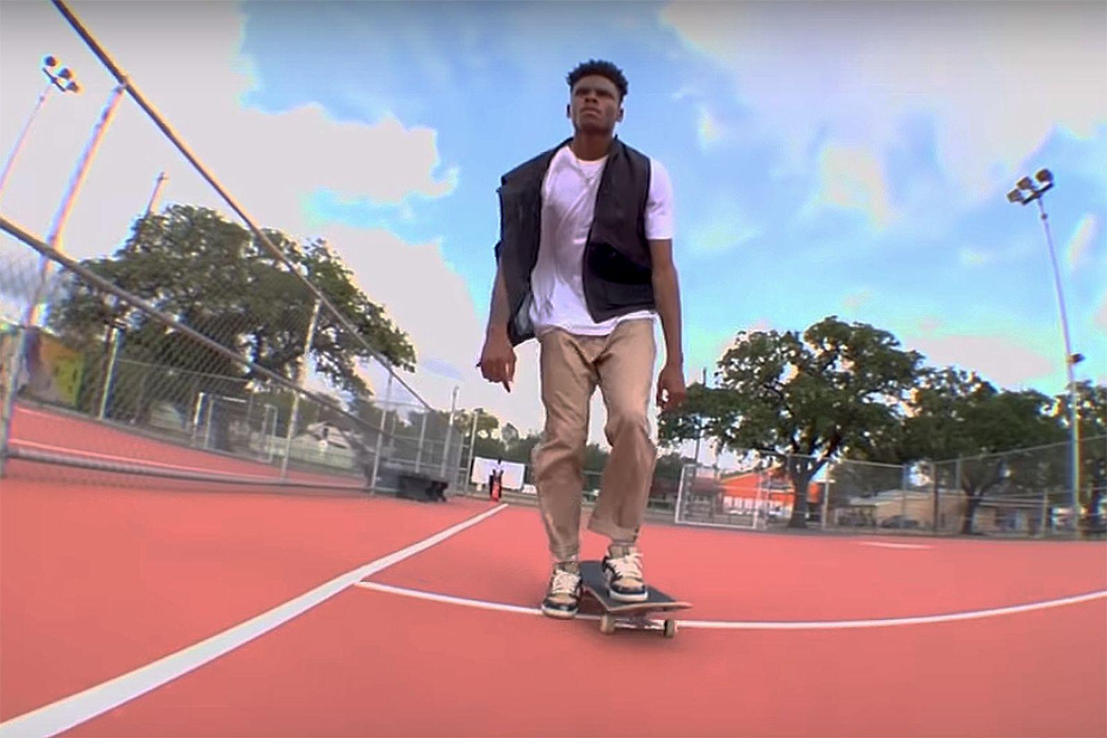 Nike Travis Scott skate vid