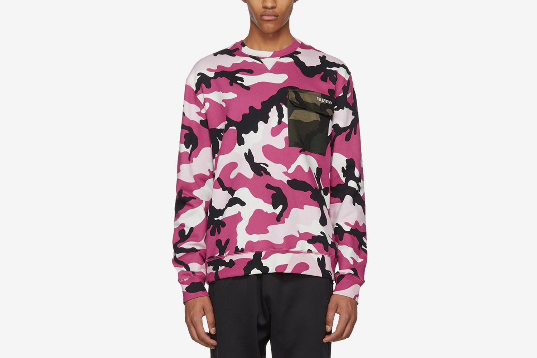 Camo Pocket Sweater