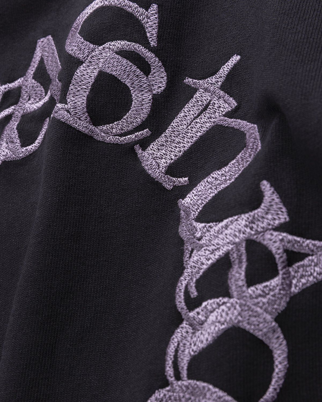 Acne Studios – Cotton Logo T-Shirt Black - Image 4