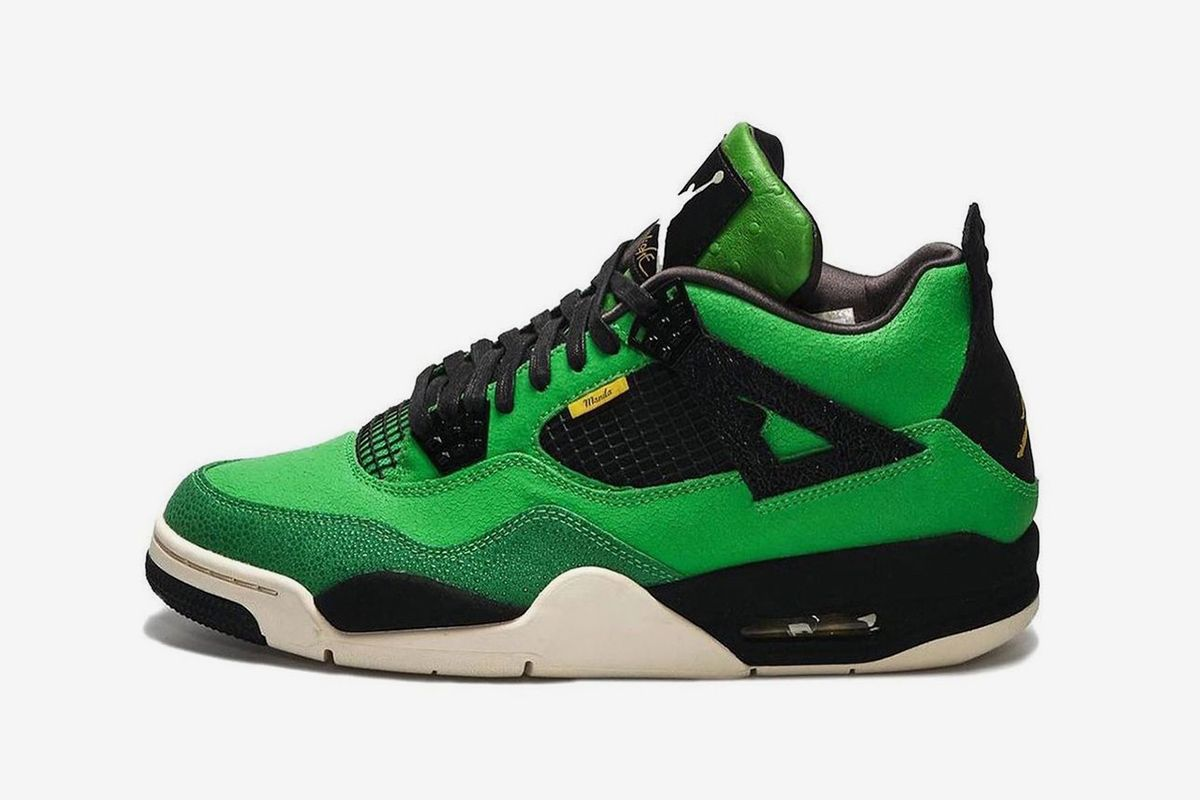 No, This Extremely Limited Air Jordan 4 Is Not Another Oregon Ducks Colorway 3