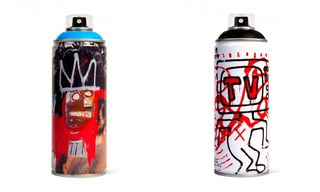 Tap Your Inner Artist With Jean-Michel Basquiat & Keith Haring Spray Paint Cans