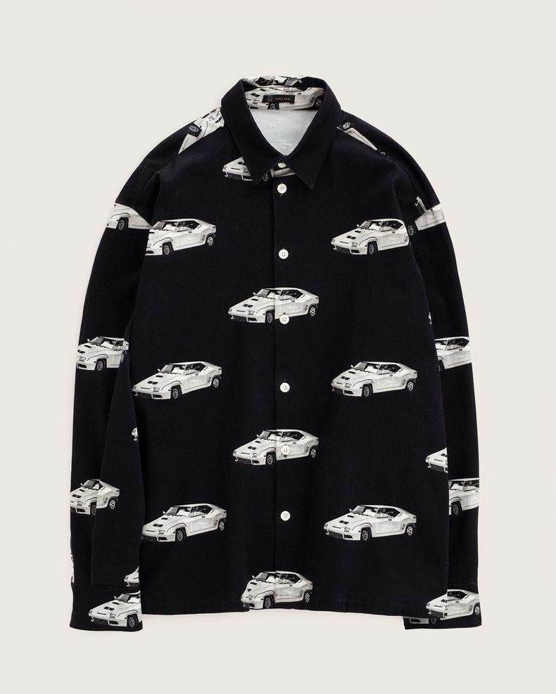 Versace —  Denim Jacket Black