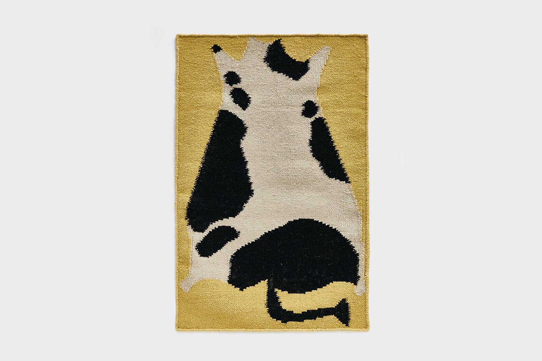Flatwoven Cow Rug