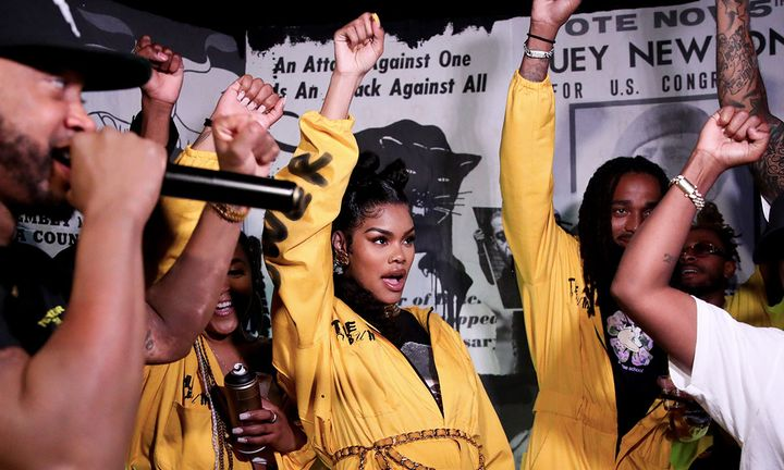 "Teyana Taylor's ""The Album"" Listening party"