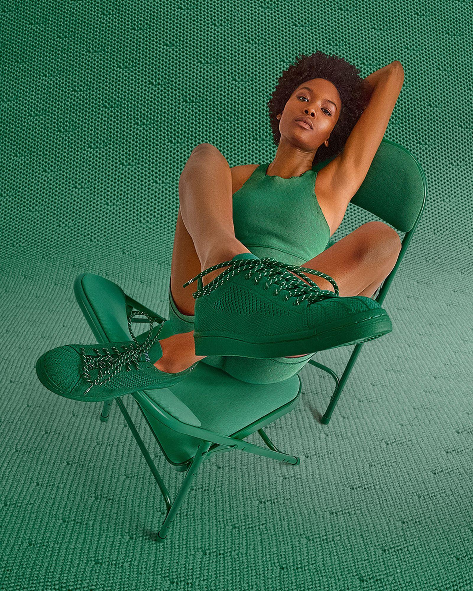 Pharrell x Superstar Primeknit 'Dark Green'