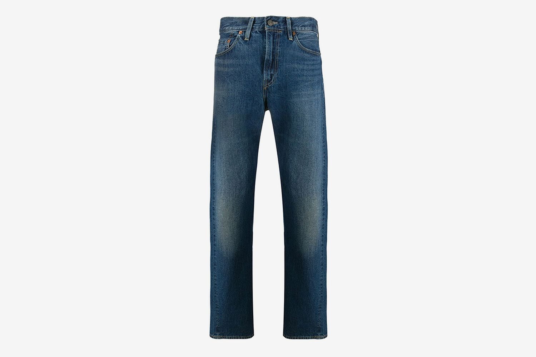 501 Mid Rise Straight Leg Jeans