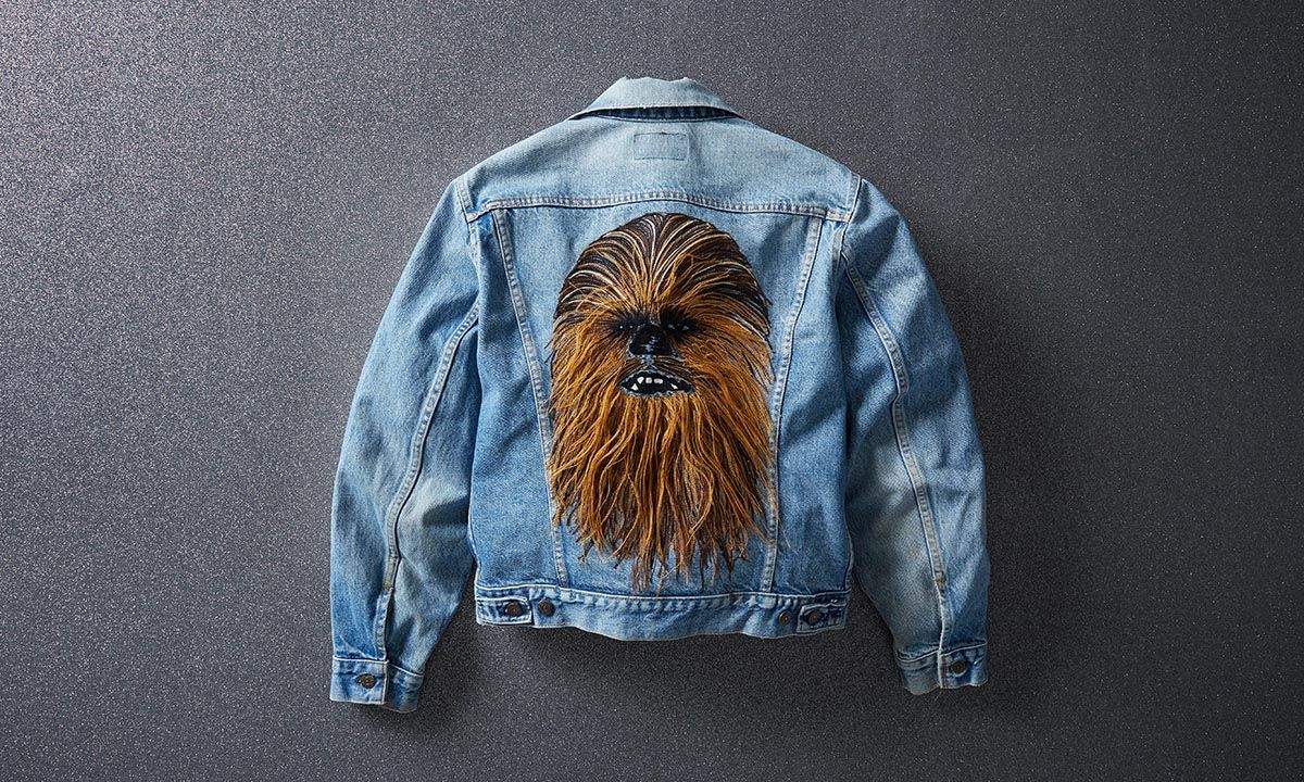 Levi's Vintage Chewbacca Trucker Jacket Is for the Ultimate 'Star Wars' Fan