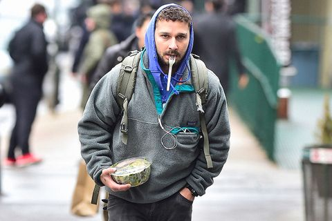 4c3c9665e79 15 Times Shia LaBeouf Proved He s a Normcore Fashion God