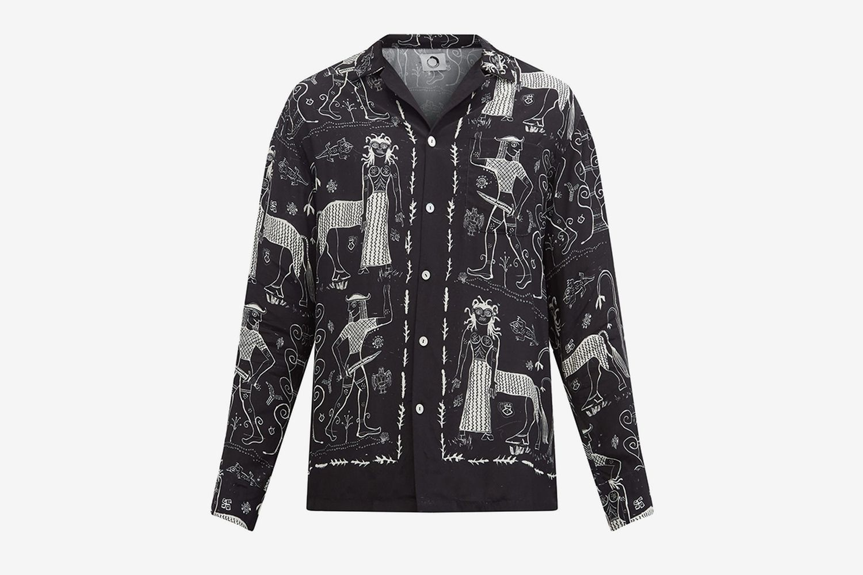 Centaur-Print Shirt