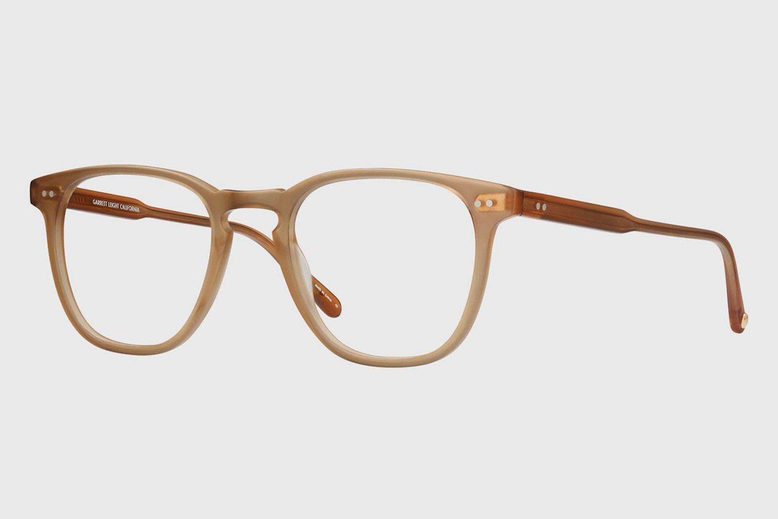 garrett leight jjjjound Brooks 47 eyeglasses