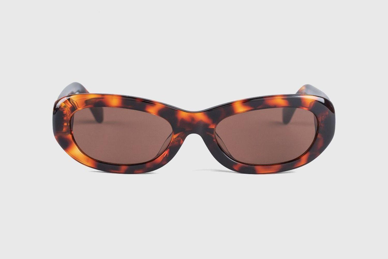 Miuccia Leopard Sunglasses