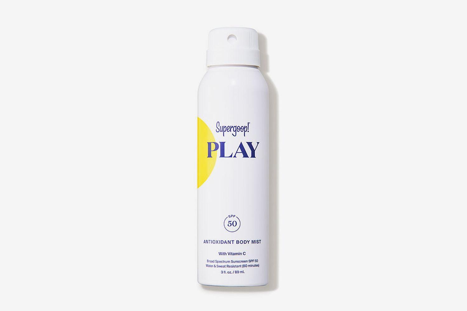 PLAY Antioxidant Body Mist SPF 50 with Vitamin C