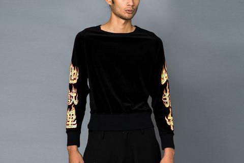 ON SALE: Printed Sweatshirt