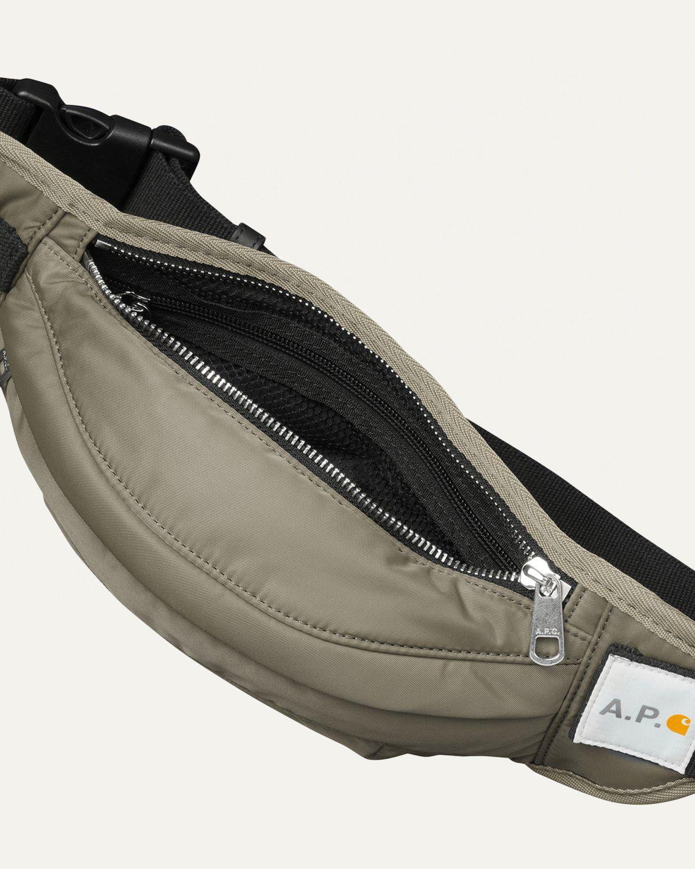 A.P.C. x Carhartt WIP - Shawn Hip Bag Khaki - Image 4