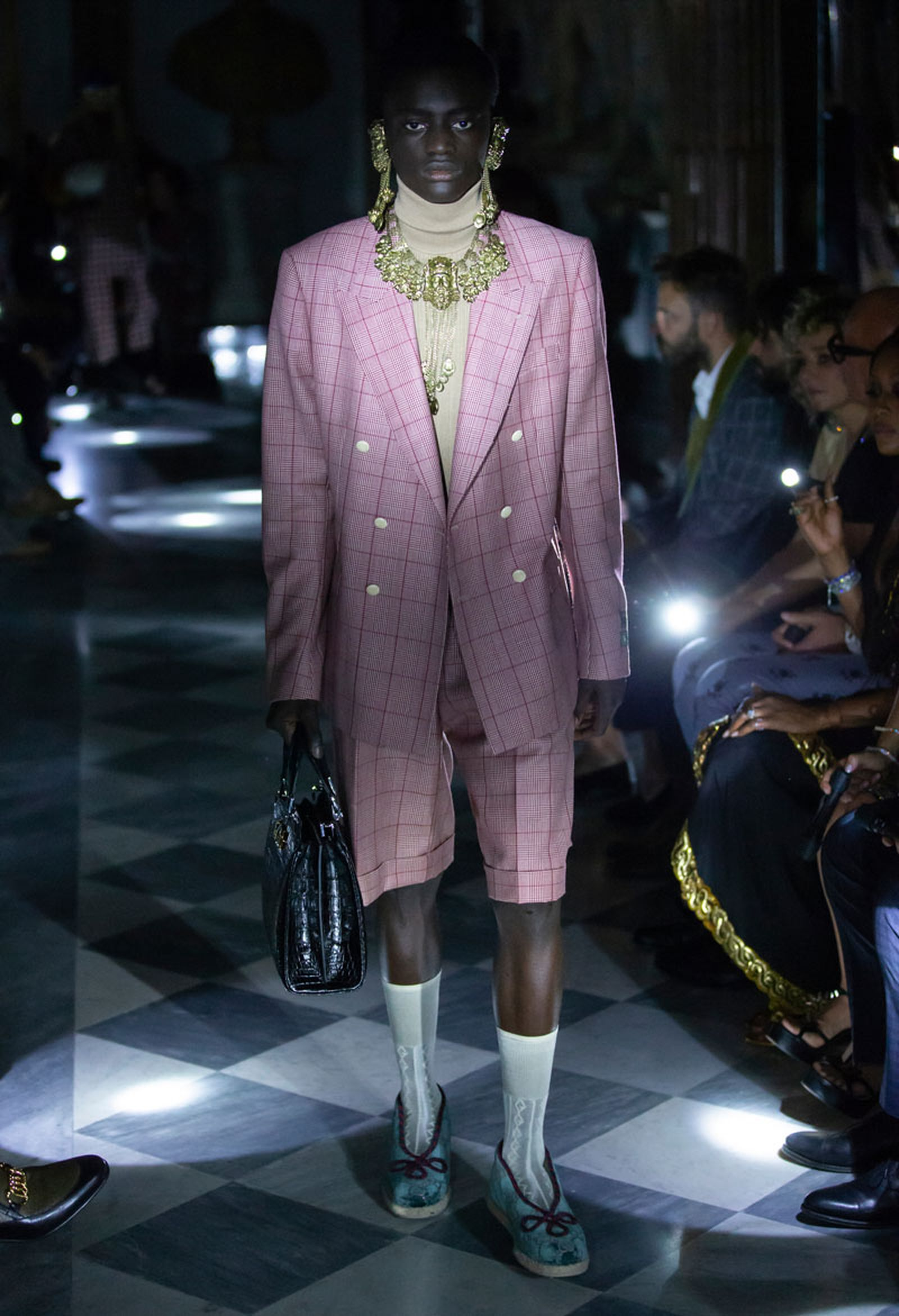15gucci cruise 2020 runway Alessandro Michele asap rocky harry styles
