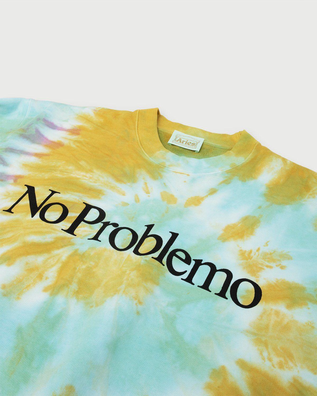 Aries - No Problemo Tie Dye Sweatshirt Multicolor - Image 2