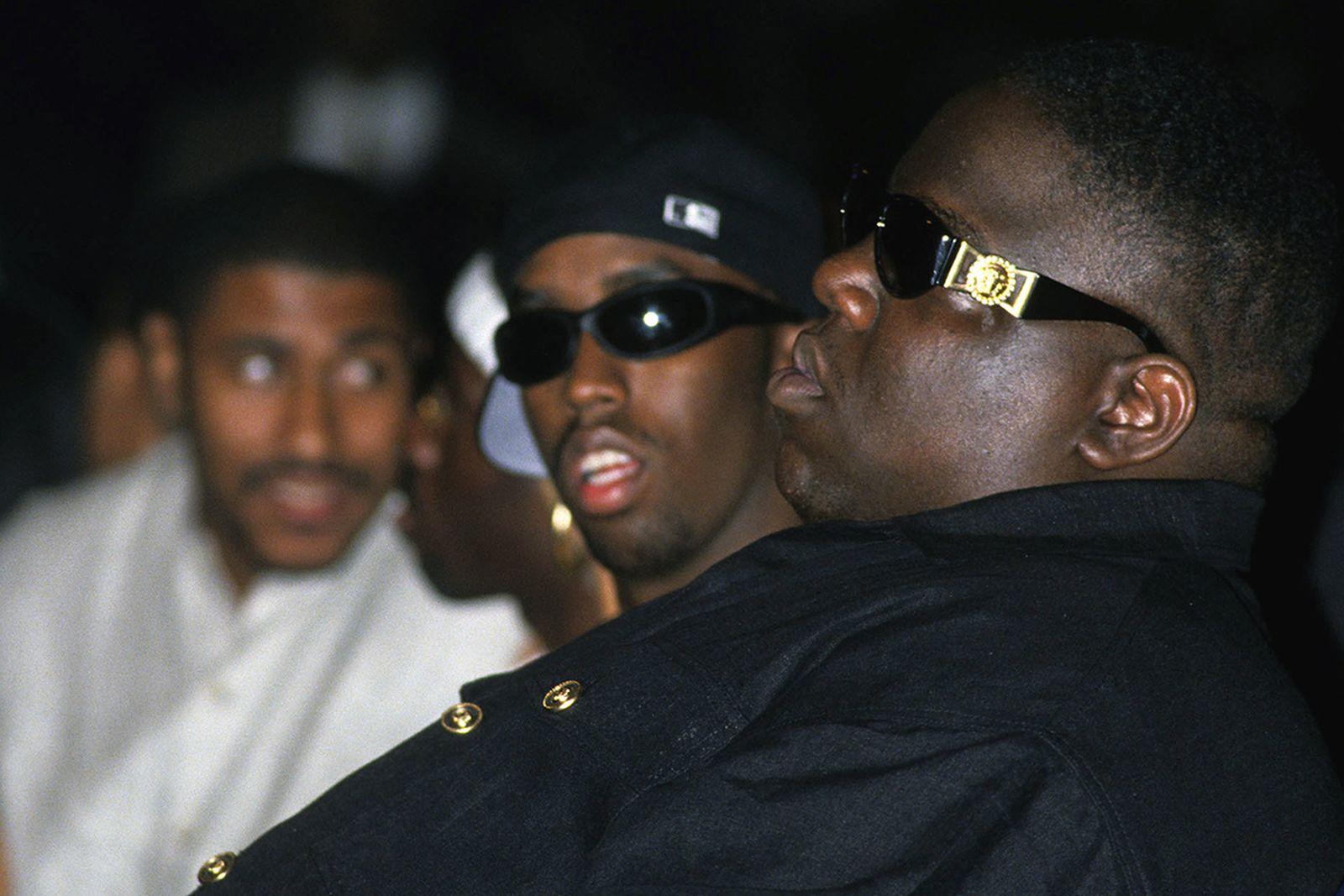 Puff Daddy Notorious BIG Versace sunglasses