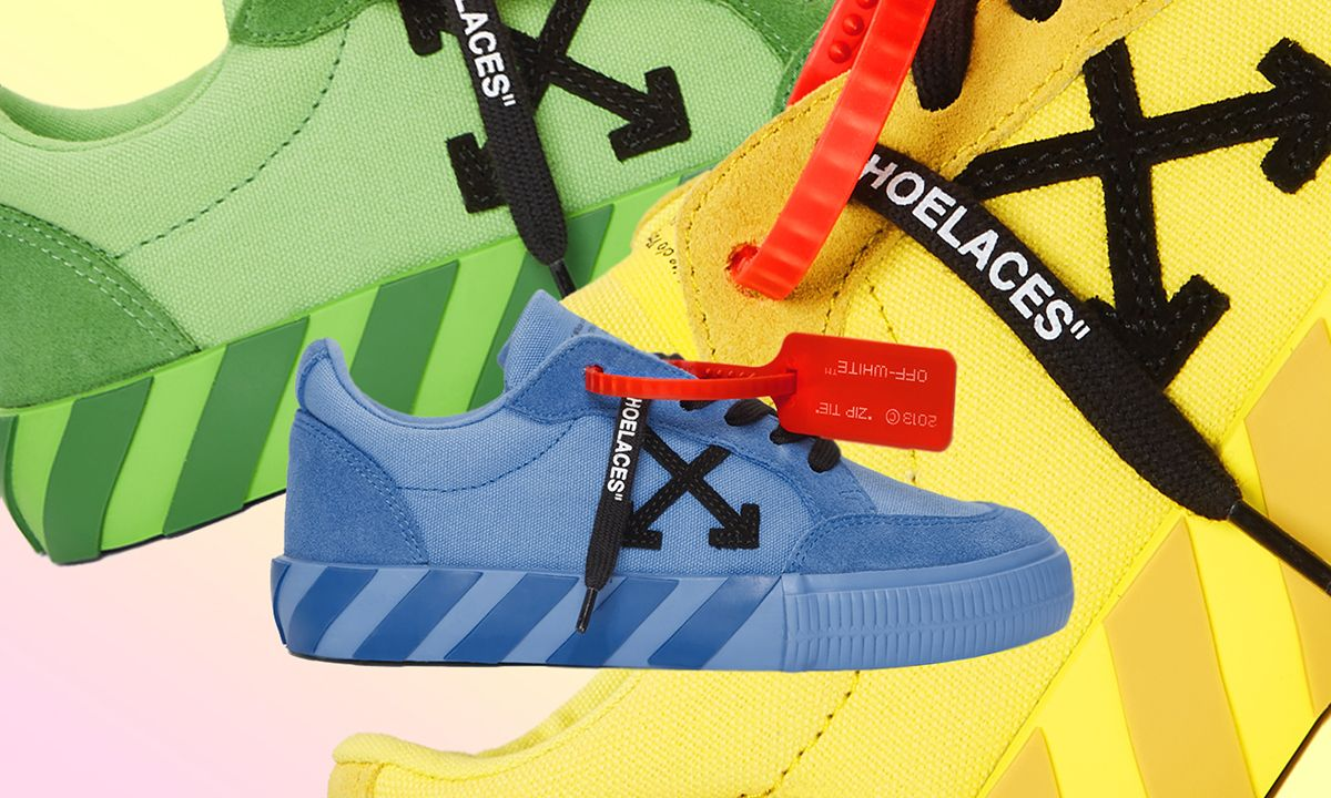 Off-White™'s Vulcanized Low Sneaker Just Dropped in Three Bold Colorways
