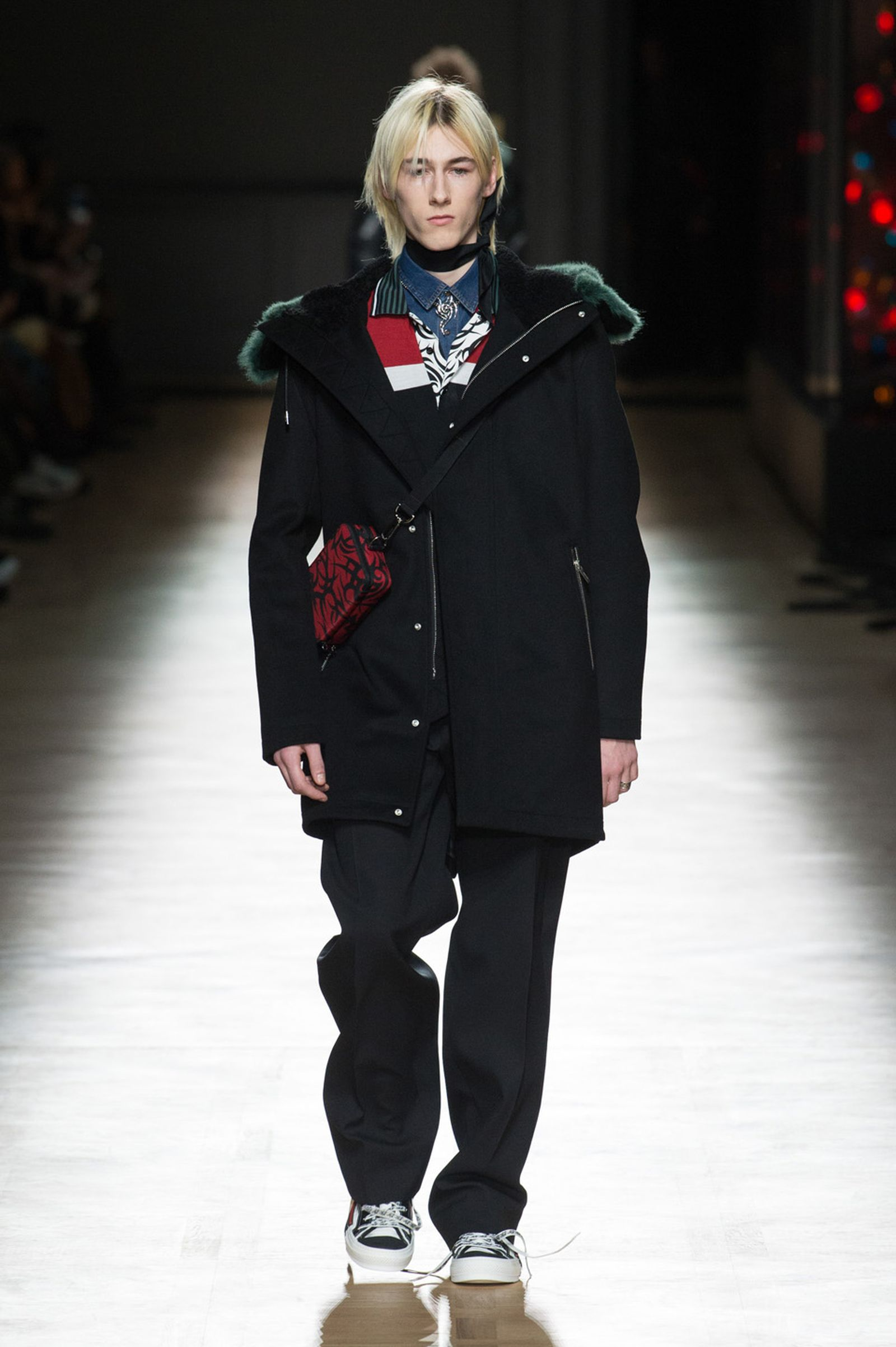 DIOR HOMME WINTER 18 19 BY PATRICE STABLE look21 Fall/WInter 2018 runway