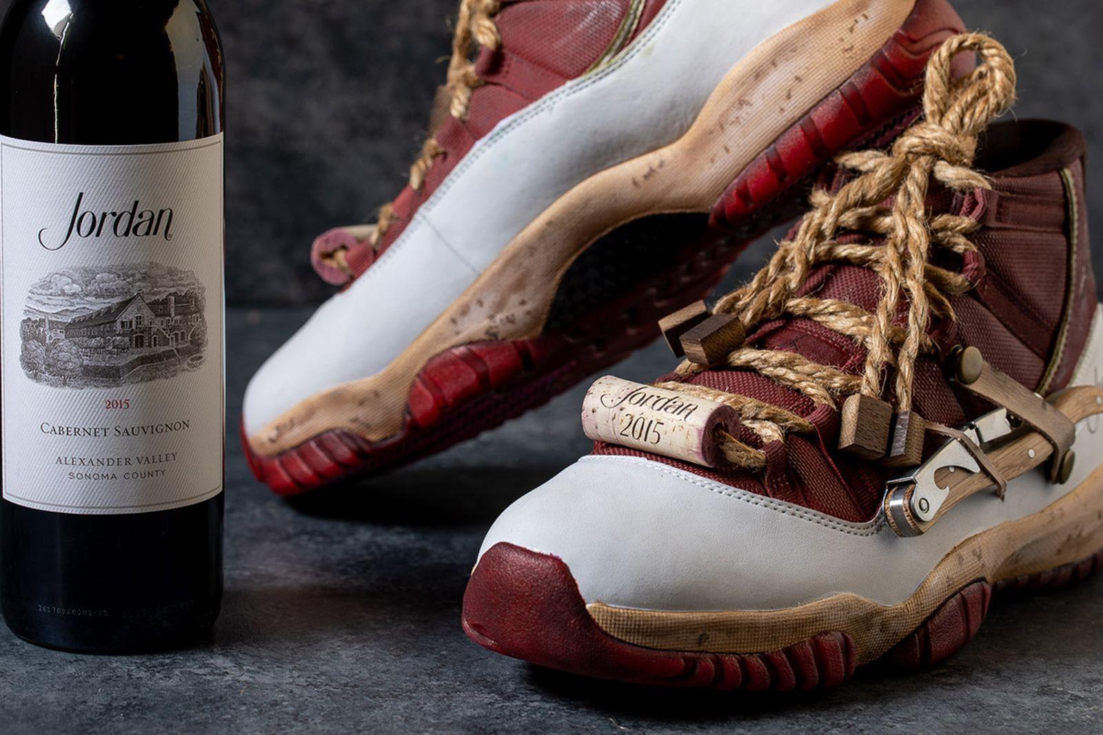 nike air jordan 10 cabernet sauvignon april fools April Fool's Jordan Winery