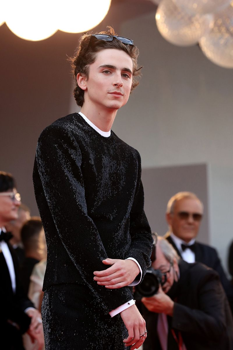 Timothée Chalamet Proves Shades Belong on the Red Carpet (Again)