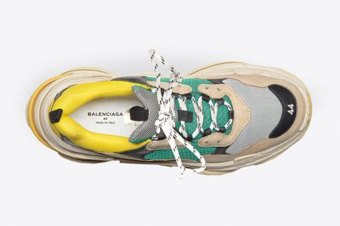 c4d1ad6b7d18 The Triple S were initially made in Italy but the manufacturer of the shoe  was moved to China where they have a savoir-faire and capacities to produce  a ...