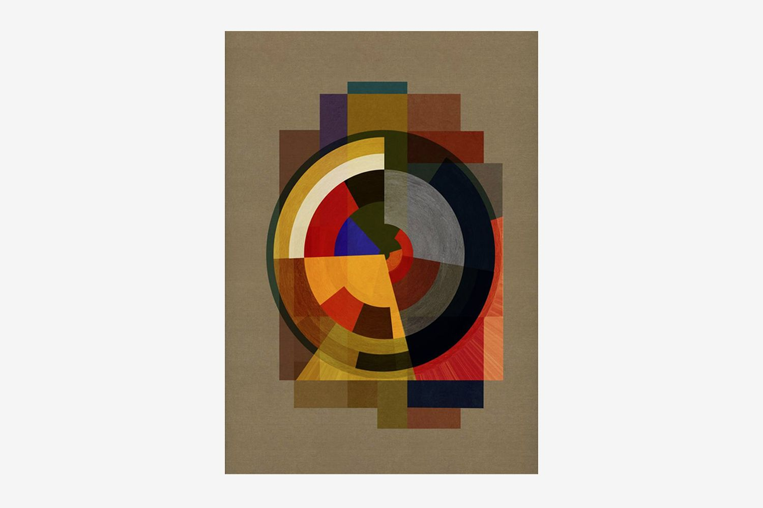 Abstract Deco FOUR - Limited Edition of 6