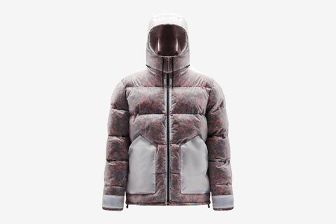 Cashmere Puffer Jacket