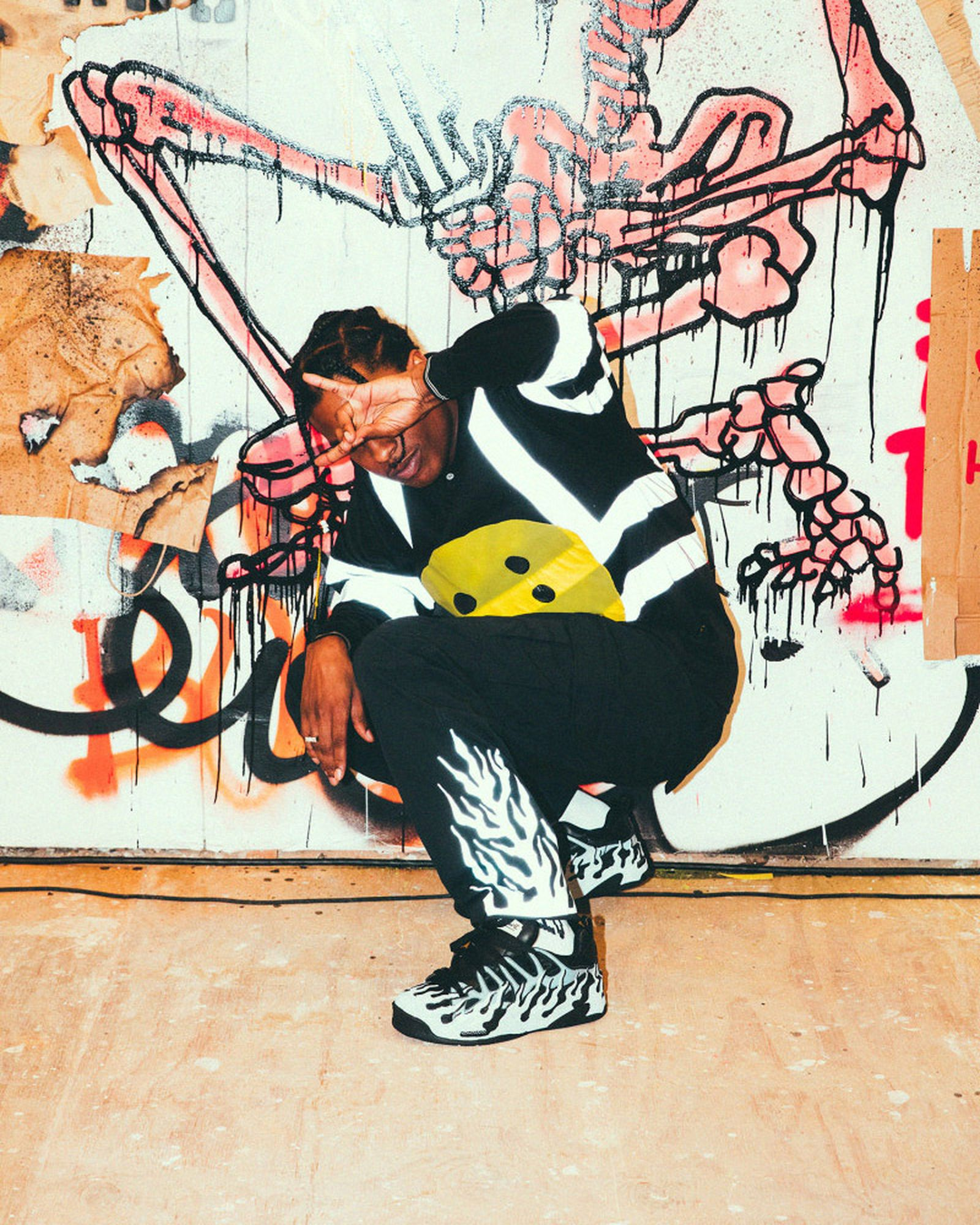 the 14 biggest sneaker moments of 2018 A$AP Rocky Adidas Nike