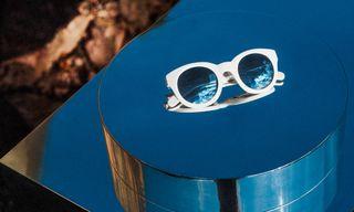 First Look | Monokel & Voo Create Eyewear & Installation with Artist Axel Wannberg