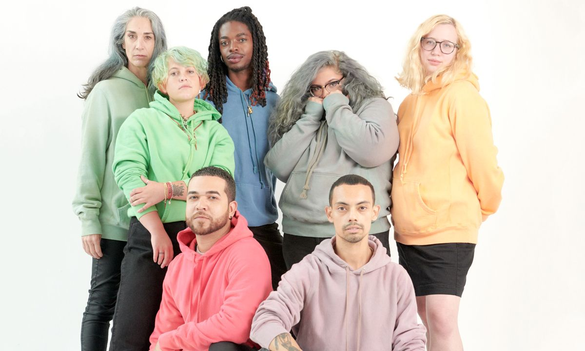 """Noah & Whitney Museum Drop a Wide Range of Colorful Hoodies in """"What Color Are You?"""" Collab"""