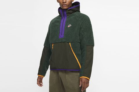 Sportswear 1/2-Zip Sherpa Hoodie