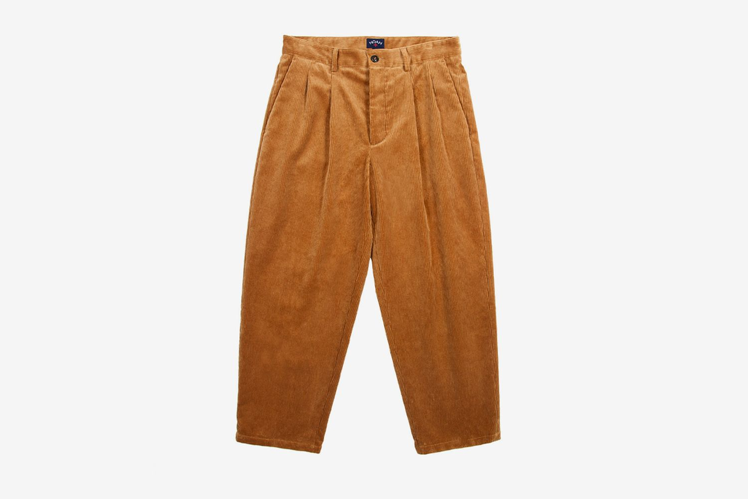 Double Pleated Cord Pants