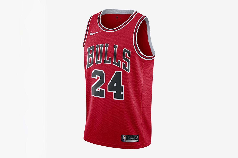 Lauri Markkanen Bulls Icon Edition NBA Swingman Jersey