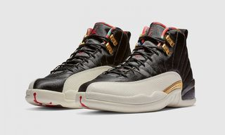 """The """"Playoffs""""-Inspired Air Jordan 12 """"Chinese New Year"""" Drops Today"""
