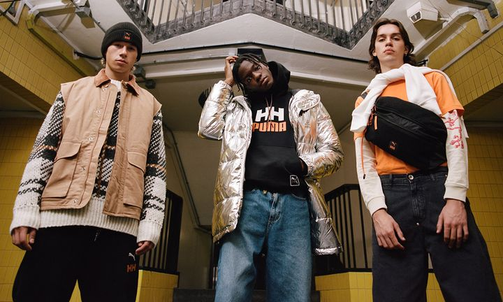 puma x helly hansen collaboration fw 2019 feat PUMA LQD CELL OMEGA PUMA Trailfox helly hansen x puma