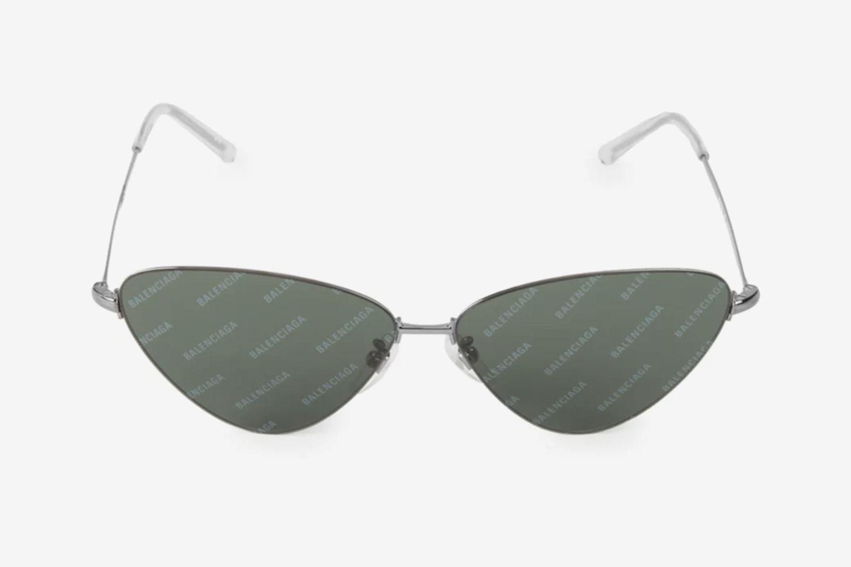61MM Triangle Logo Sunglasses
