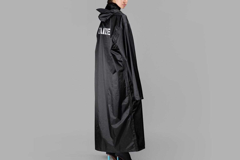 Oversized Raincoat
